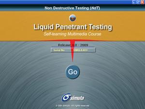 Simula Liquid Penetrant Testing