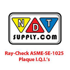 Ray-Check ASME-SE-1025 - Individual I.Q.I.'s