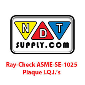 ASME SE-1025 Plaque I.Q.I's