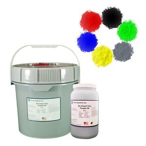 Dry Visible Magnetic Particle Materials