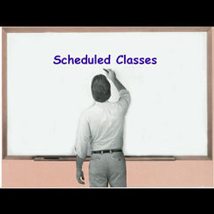 Scheduled Classes