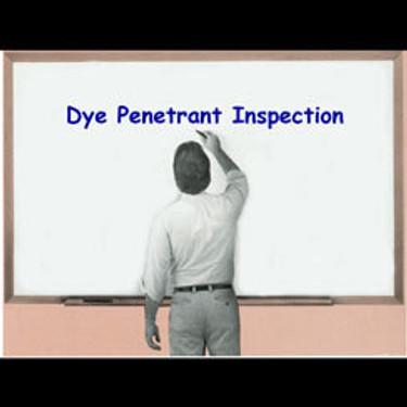 Dye Penetrant Testing Courses
