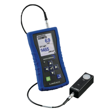 B&W LumaCheck Dual UV & Visible Light Meter