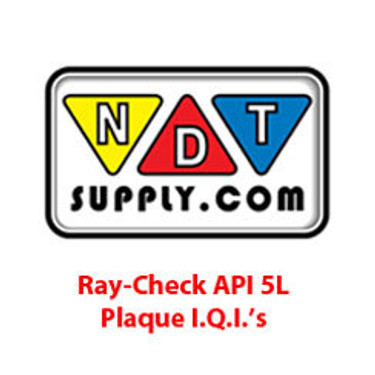 API 5L Plaque I.Q.I.'s