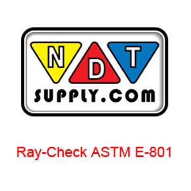 Ray Check ASTM E-801 IQIs