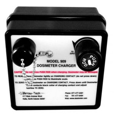 Arrow 909B Battery Powered Dosimeter Charger