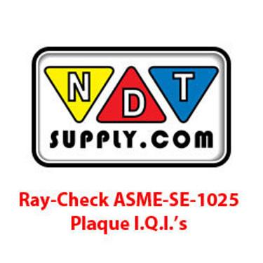 ASME SE-1025 Plaque I.Q.I's