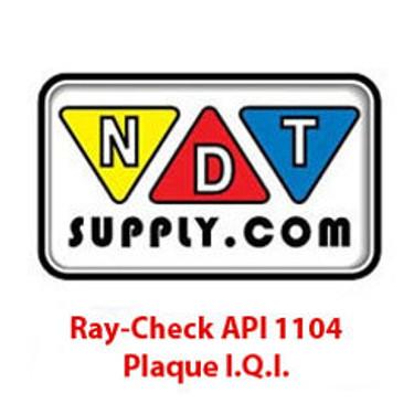 API 1104 Plaque I.Q.I.'s
