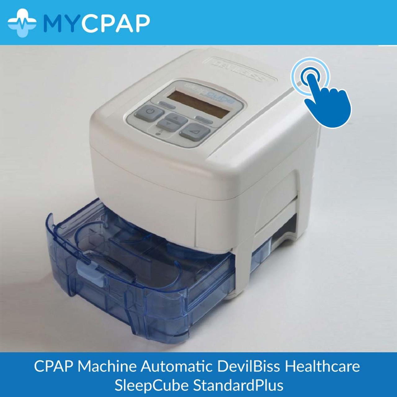 Devilbiss Healthcare SleepCube Auto Adjust Plus - Humidifier Version