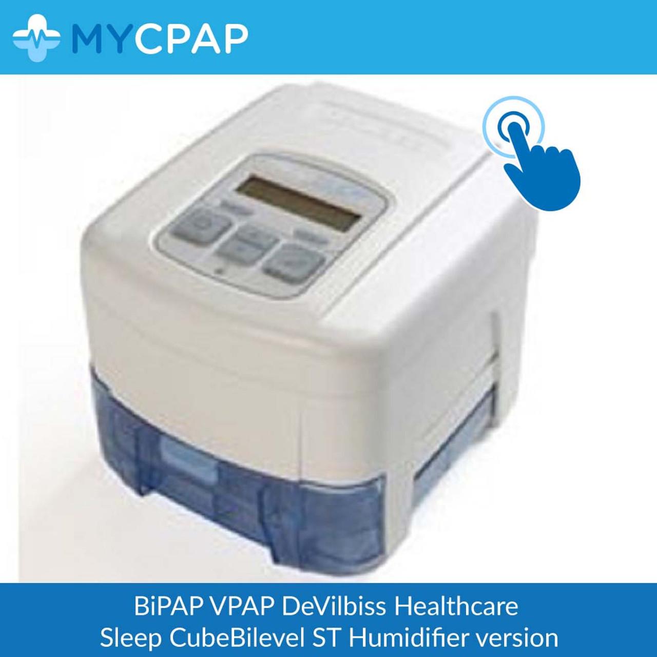 DeVilbiss Healthcare-Sleep CubeBilevel ST (humidifier version)