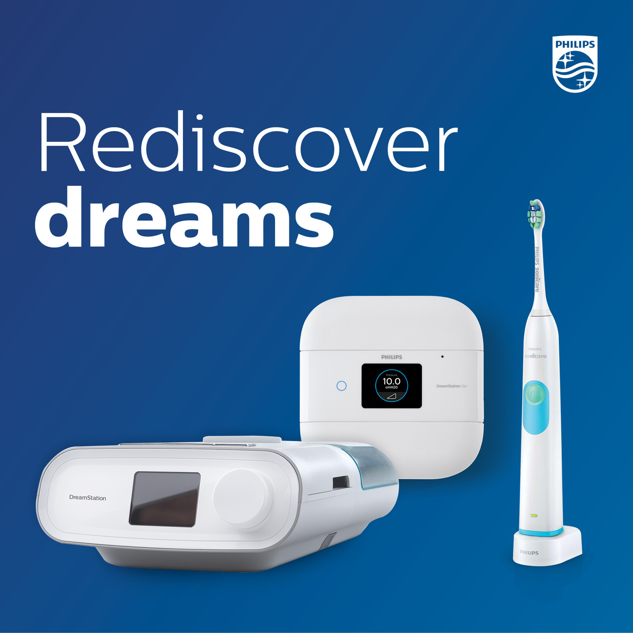 Dreamstation Sonicare Packages- Prices Appear when you choose Machine, Mask and Size