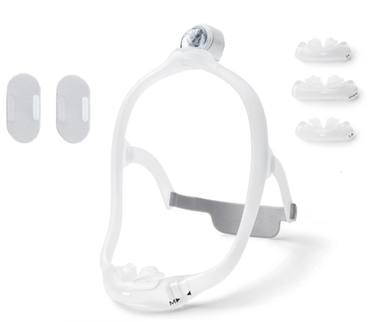 Philips Respironics Dreamwear Silicone Pillows mask ( 2 different Frames Sizes)- Special get a free cushion when you Buy