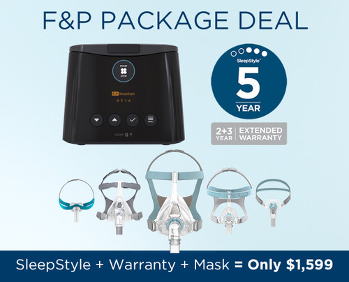 Fisher and Paykel SleepStyle Auto CPAP Machine Package
