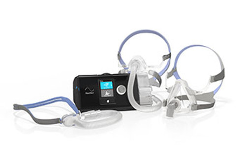 Resmed AirSense 10 CPAP machine package