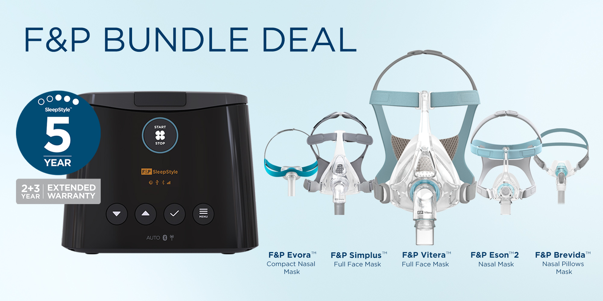F&P CPAP Products for Sale in Australia