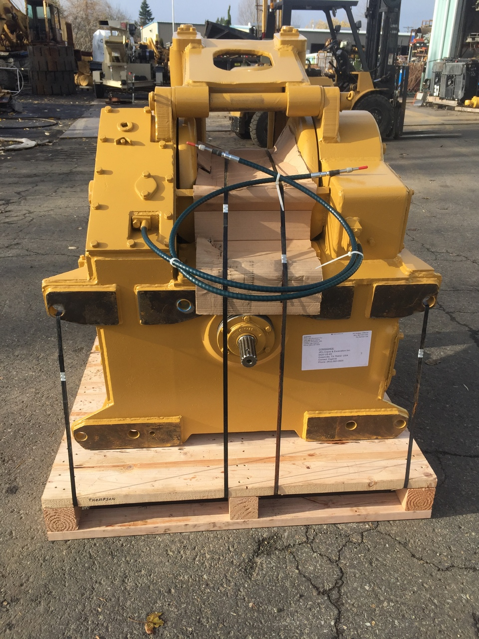 Allied W8L Winch For D7 (Low Drive) - Dozer Winch Parts