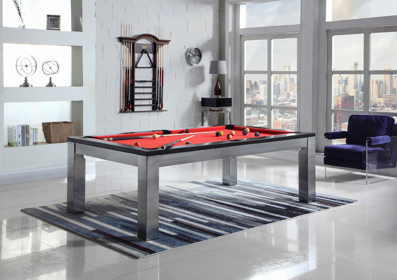 Monaco 7 And 8 Slate Pool Table With Dining Top Playcraft