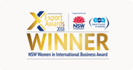 NSW Women in International Business Award