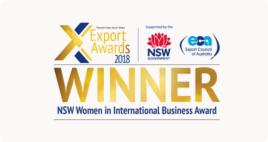 NSW Women in International Business Award