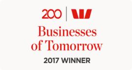 Business of Tomorrow 2017 Winner