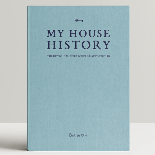 Personalised My House Map History Album