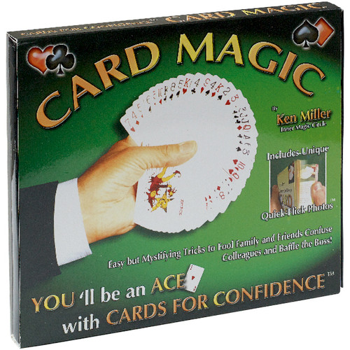 Card Magic Tricks Set