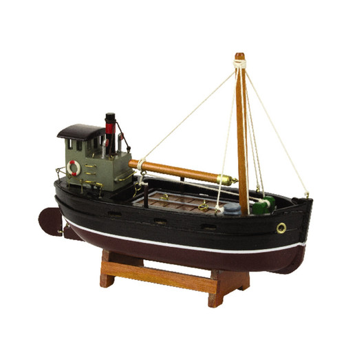 Wooden Clyde Puffer Model