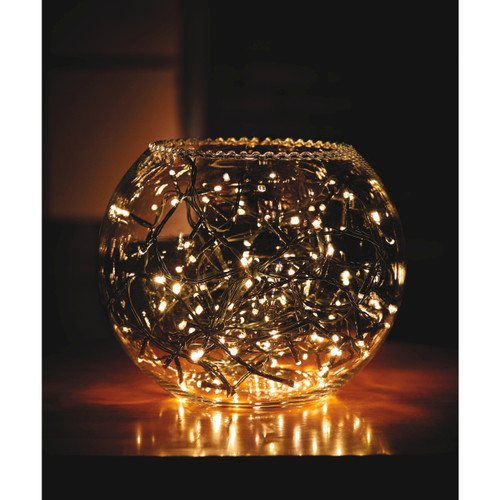 Indoor and Outdoor Battery Operated 600 LED Christmas Tree Lights