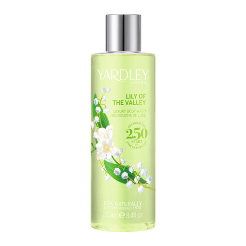Yardley Lily of the Valley Body Wash 250ml