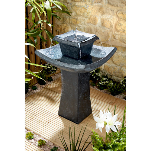 Oriental Pagoda Water Feature