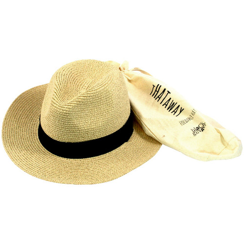 Packable Panama Travel Hat
