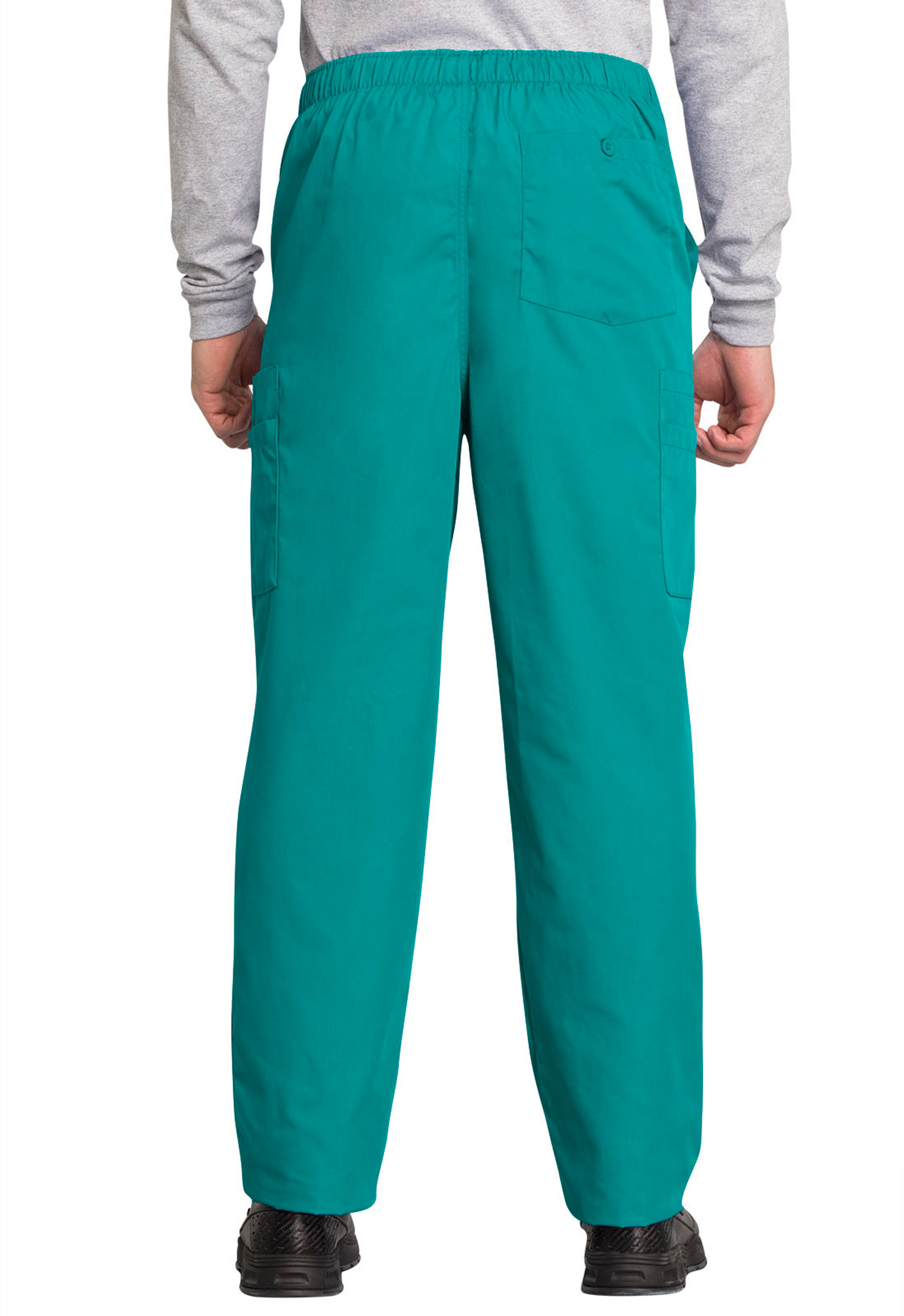 Cherokee Workwear Originals 4000 Men's Drawstring Cargo Scrub Pant