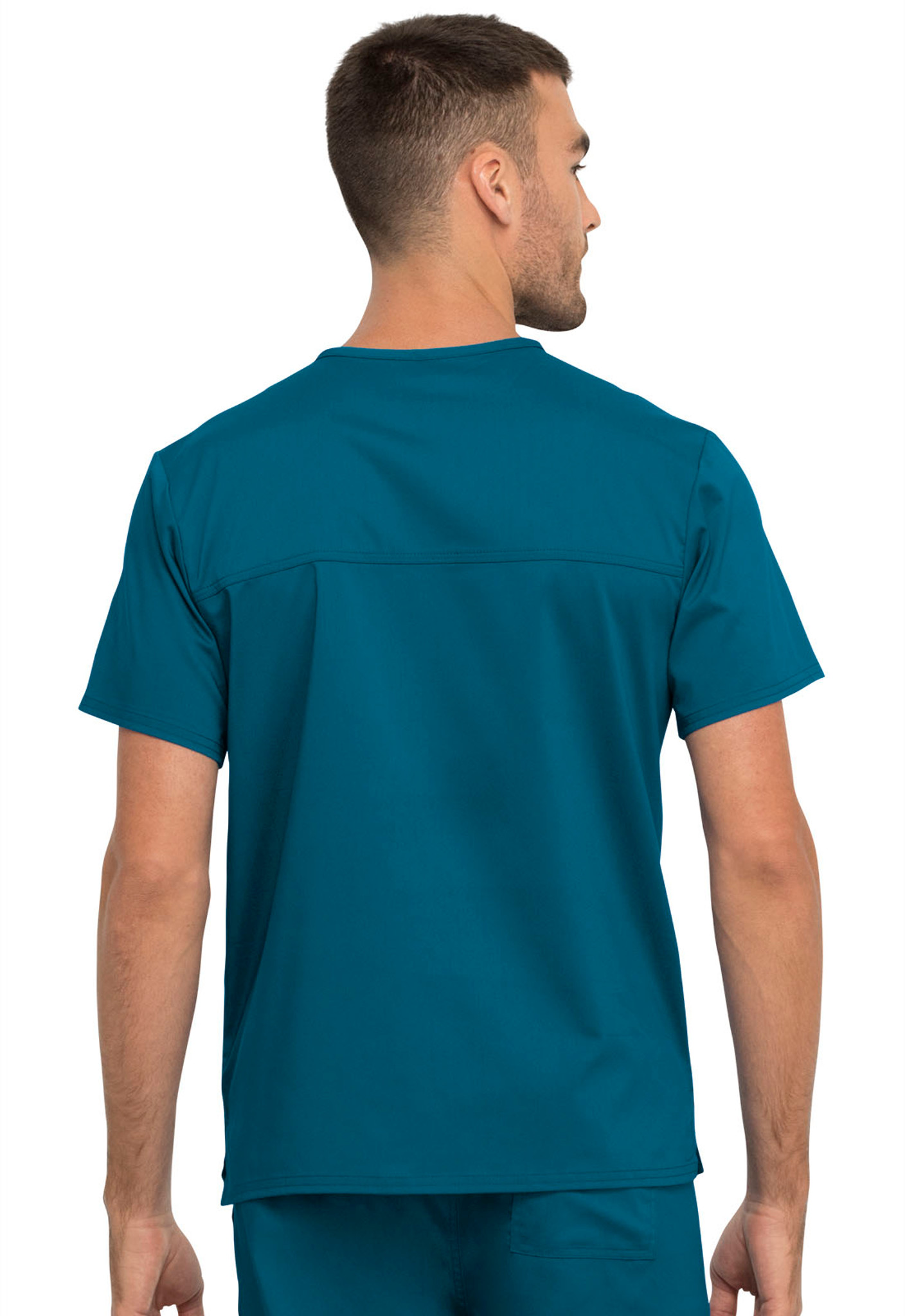 Workwear Revolution WW625 Unisex Unisex 1 Pocket V-Neck Top by Cherokee