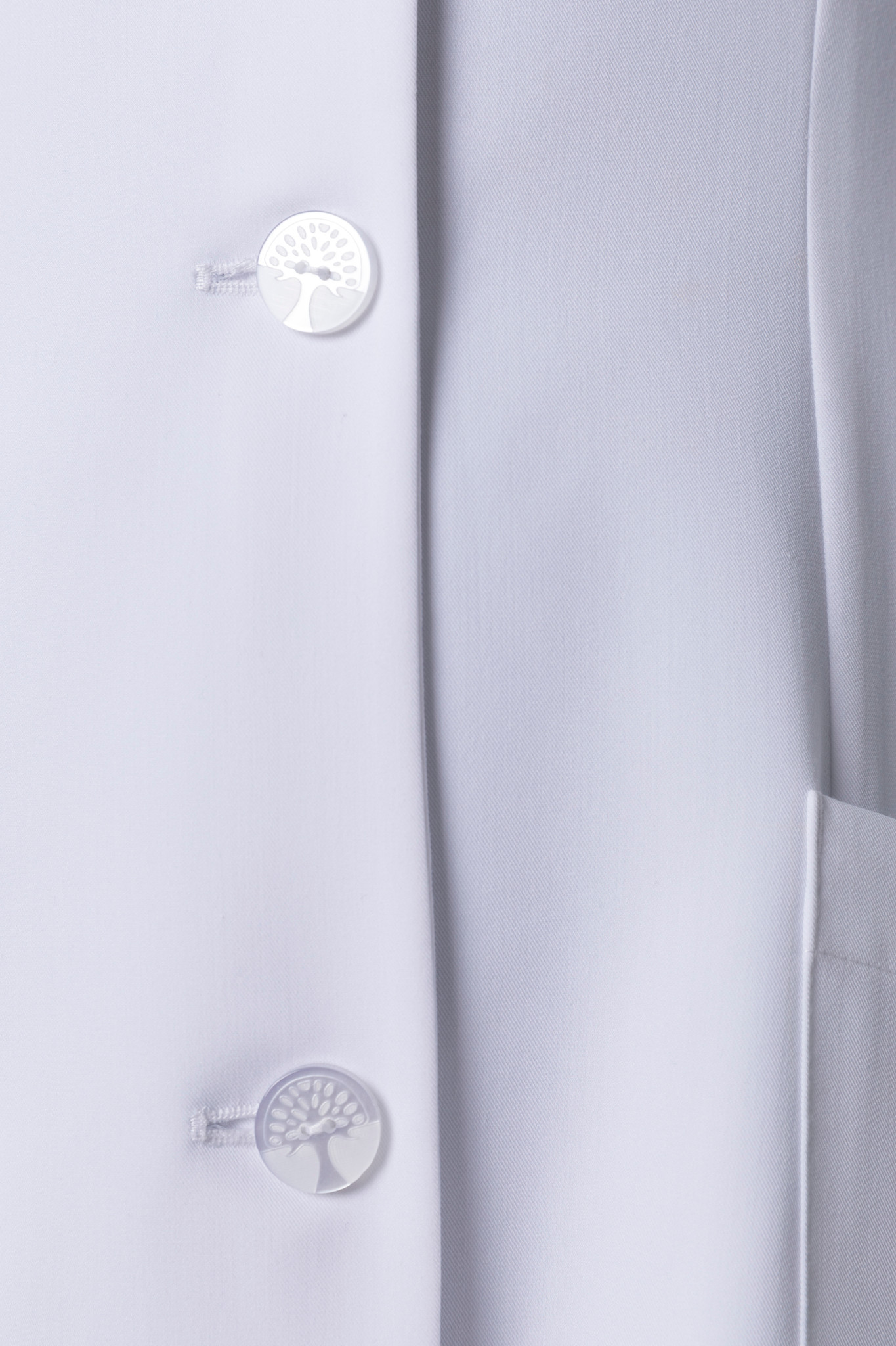 Healing Hands White Coat 5101 The Modernist Fiona Women's Lab Coat Buttons Image