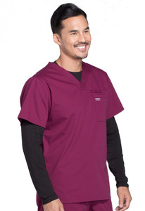 Cherokee Workwear Professionals WW675 Men's V-Neck Scrub Top, RIght