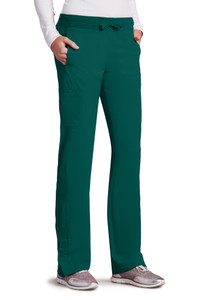 Barco ONE 5205 Women's Four Pocket Cargo Track Scrub Pants (5205) Front
