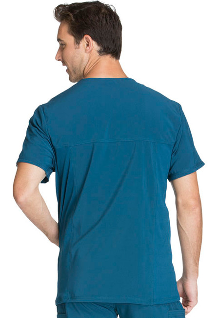 Cherokee Infinity CK900A Men's Athletic Fit V-Neck Scrub Top with Three Pockets (CK900A)