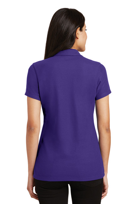 Port Authority L5001 Ladies Silk Touch Y-Neck Women's Polo Shirt