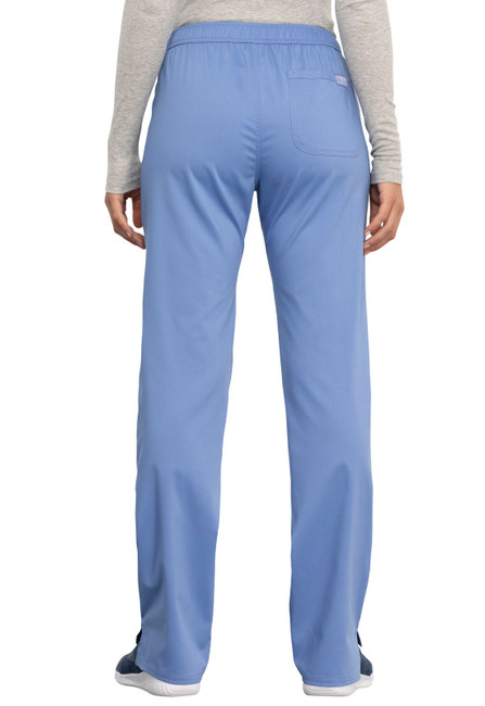 Workwear Revolution WW005 Women's Straight Leg Drawstring Scrub Pant by Cherokee