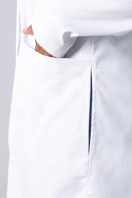 Healing Hands White Coat 5161 The Minimalist Fay Women's Lab Coat Pocket Image