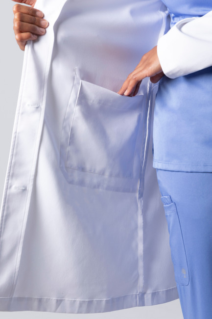 Healing Hands White Coat 5161 The Minimalist Fay Women's Lab Coat Inside Pocket Image