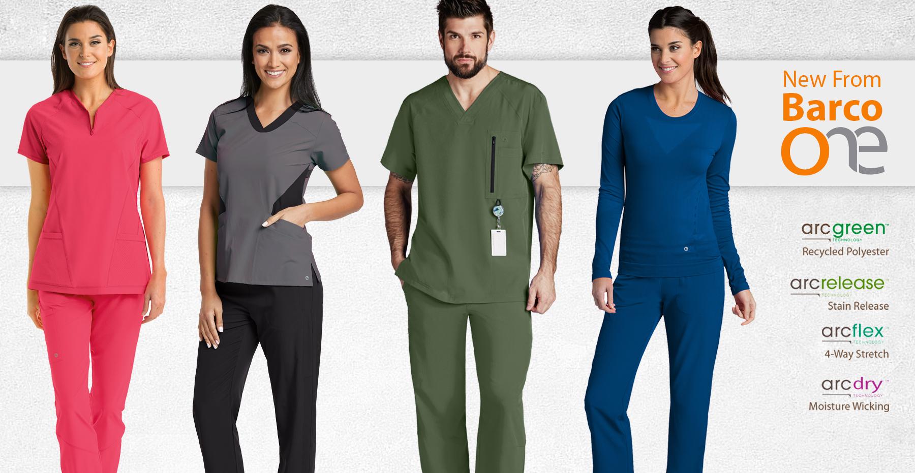 New Barco ONE Nursing Scrubs & Medical Uniforms