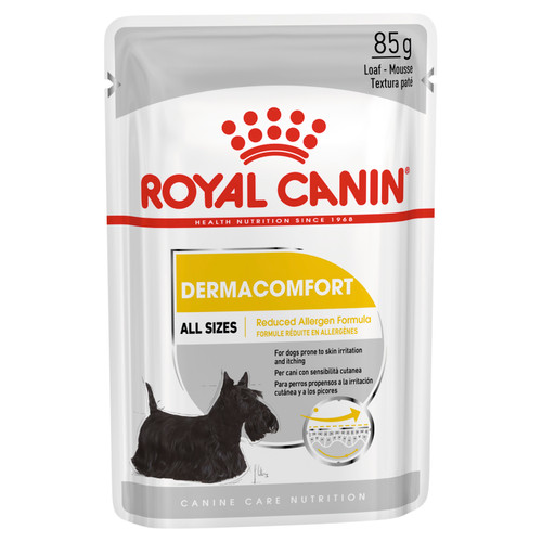 Royal Canin Dermacomfort Loaf Wet Dog Food