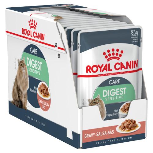Royal Canin Digestive Sensitive in Gravy Wet Cat Food
