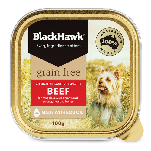 Black Hawk Grain Free Beef Tinned Wet Dog Food