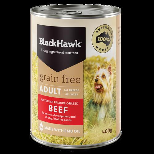 Black Hawk Grain Free Beef Canned Wet Dog Food
