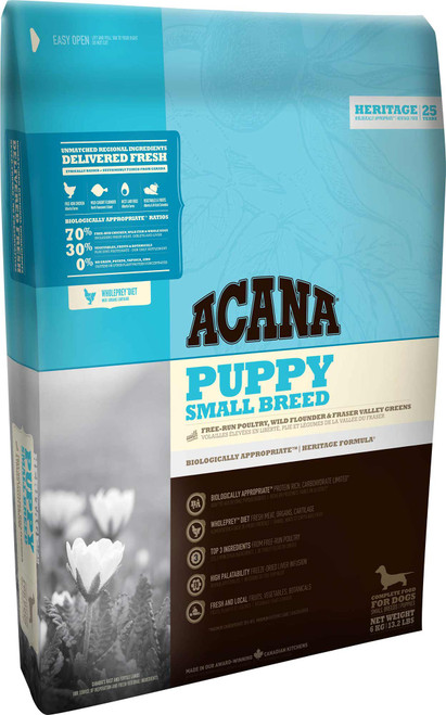 Acana Heritage Puppy Small Breed Dry Dog Food