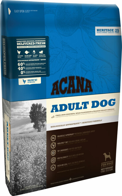 Acana Heritage Adult Dry Dog Food
