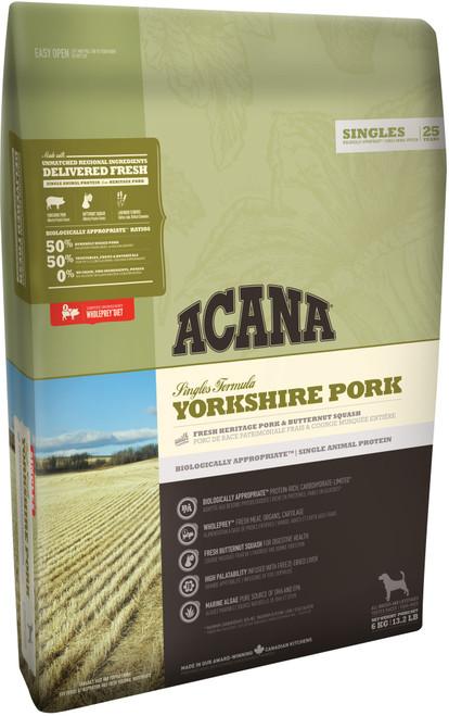 Acana Singles Yorkshire Pork Dry Dog Food