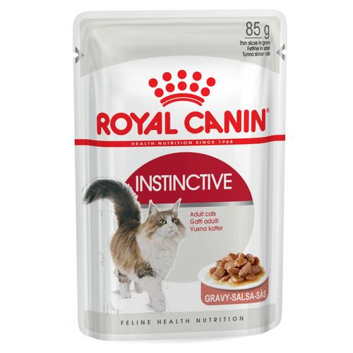 Royal Canin Instinctive Adult in Gravy Wet Cat Food
